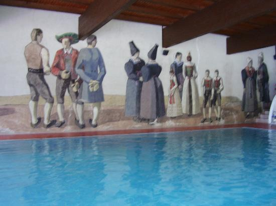 Hotel Rodes : piscina
