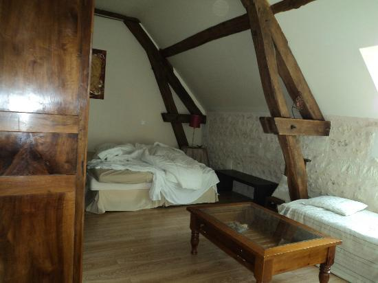 Les Pierres d'Aurele : Our room