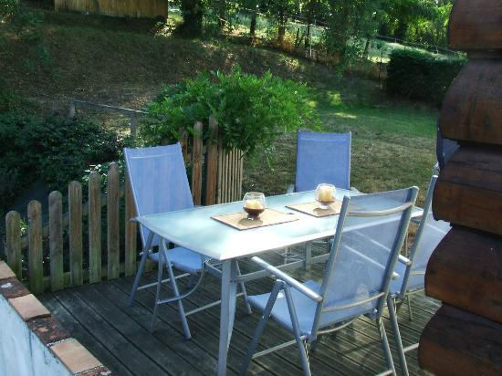 Maoutens Chambres d'Hotes: Terrasse