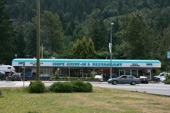 Hope Drive In & Restaurant : Hope Drive-In