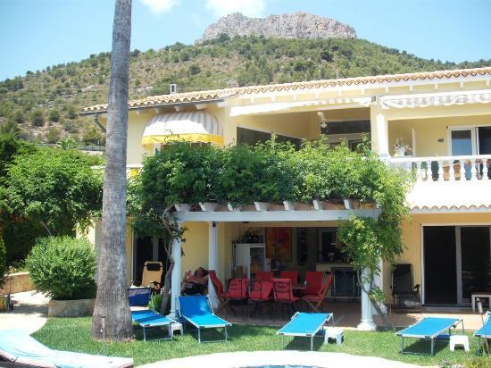 Casa La Diferencia: vom Pool auf das Haus