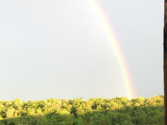 Village At Indian Point: Rainbow after a brief rain from the balcony