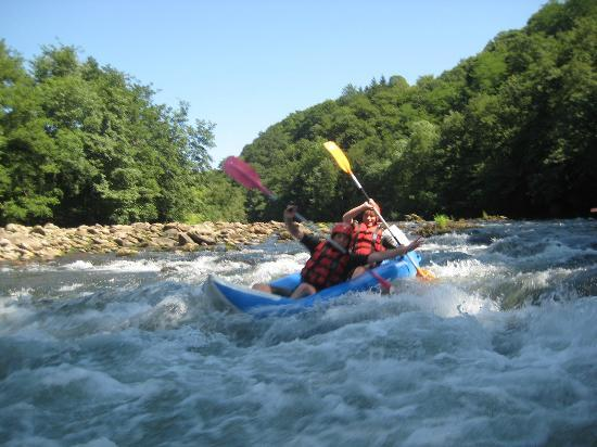 Nature-Riviere: cano-raft