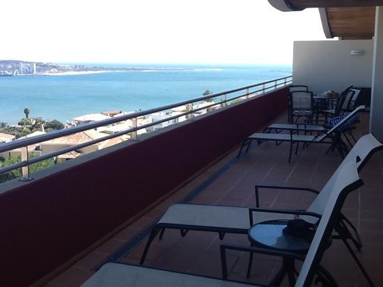 Solplay Hotel de Apartamentos: terraza de la habitacion