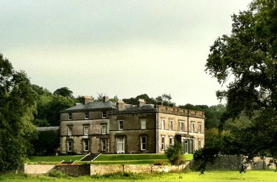 View of Temple House from Sheep Pasture
