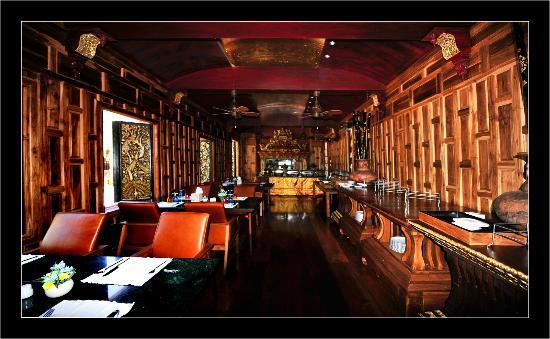 Ammatara Pura Pool Villa: Le restaurant