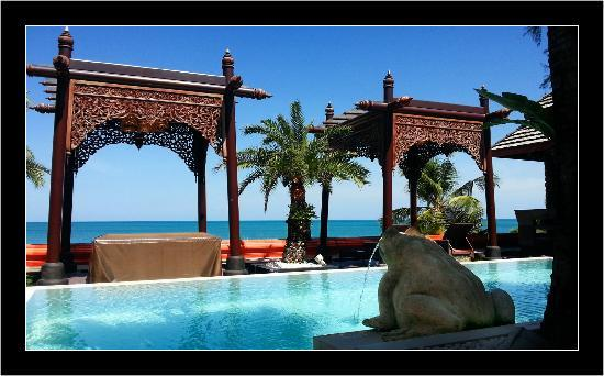 Ammatara Pura Pool Villa: Piscine d'une suite
