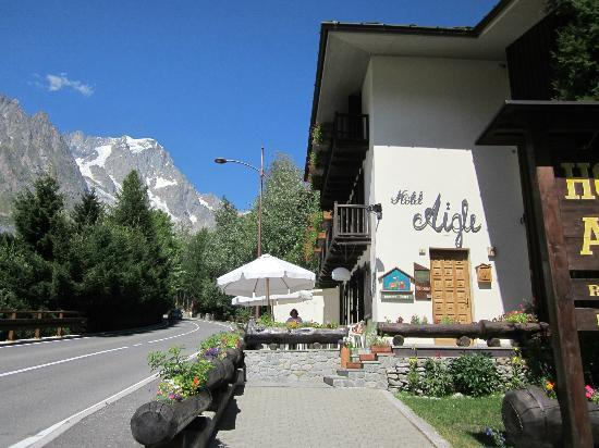 Hotel Aigle: View of hotel