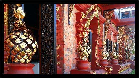 อมตราปุระ พูลวิลล่า: La façade du restaurant
