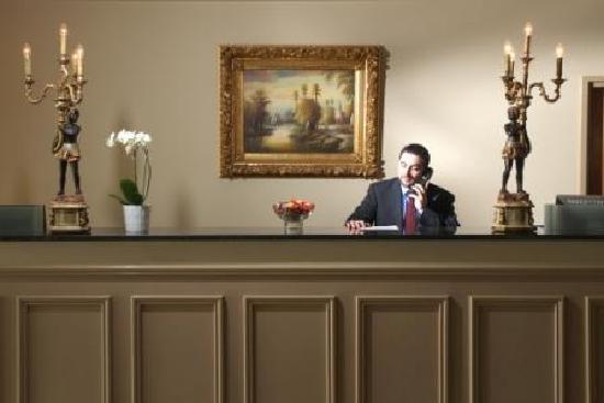 Portlaoise, Irlanda: Reception Desk