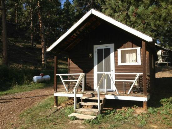 Elkhorn Lodge and Guest Ranch: Small and Cozy Cabin No. 3