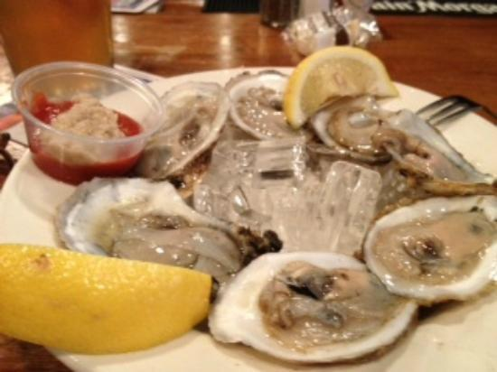 Blackstone Grill: Oysters on the 1/2 shell