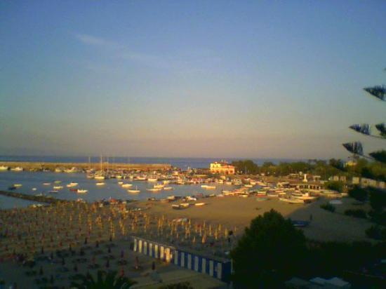 Hotel Sporting Baia: tramonto dalla camera