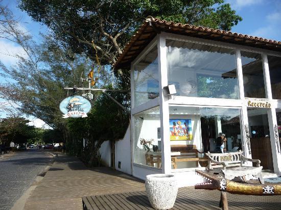 Pousada Blue Marlin: Hotel office and reception