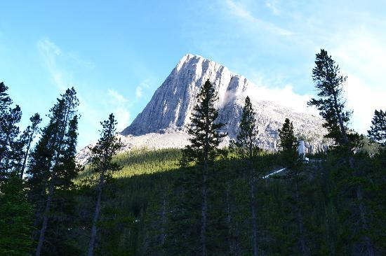 Holiday Inn Canmore : View from Grassi Lakes
