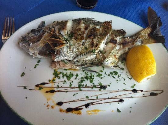 Ron's Restaurant: pêche du jour, cuit simplement et délicieusement bon!
