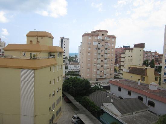 Biarritz Hotel: vistas desde la terraza habitacion 405