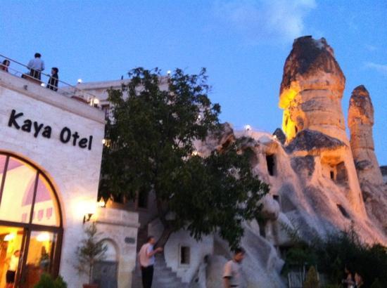 Goreme Kaya Hotel: entrance