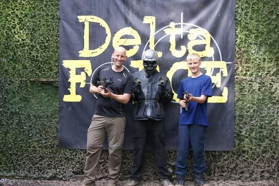 Delta Force Paintball Southampton: Battle with the best!