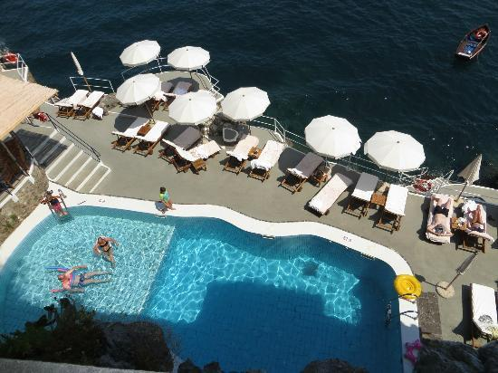 Santa Caterina Hotel: amazing pool area