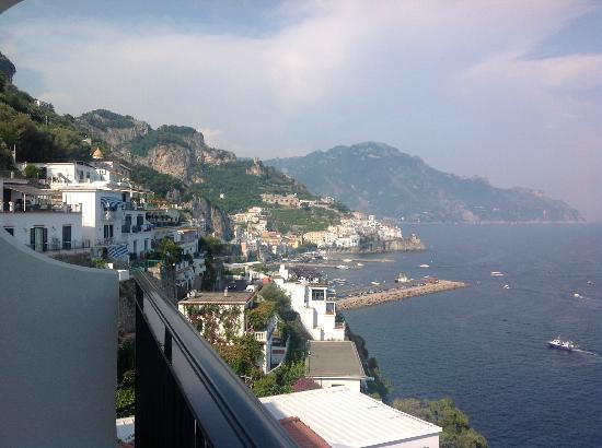 Santa Caterina Hotel: View from our room