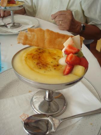 Restaurant La Cabana: crème catalane