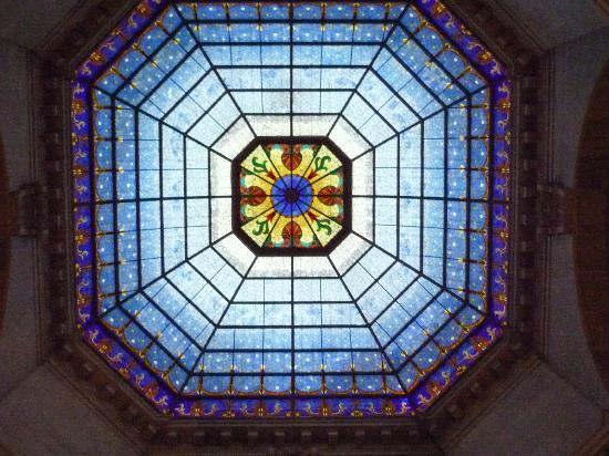 Indiana State Capitol: Stained Glass Rotunda