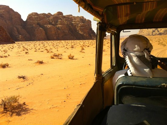Bedouin Advisor: Jeep tour of the park