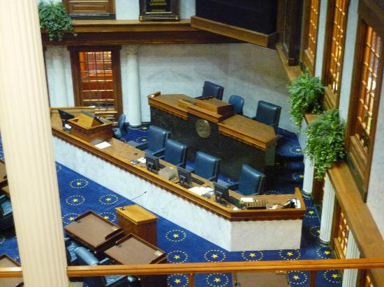 Indiana State Capitol: Senate Chambers