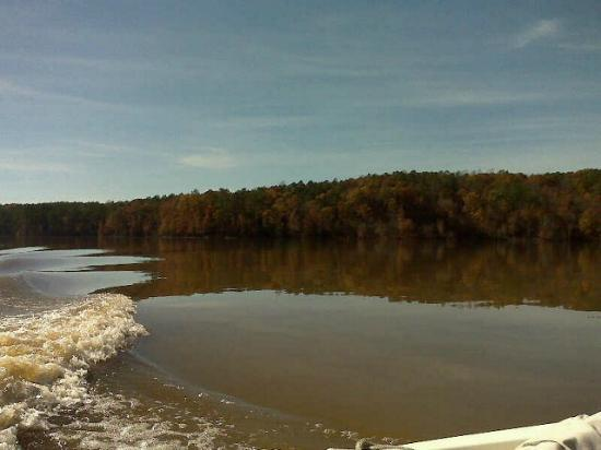 Jordan Lake State Recreation Area: Boating on Jordan Lake