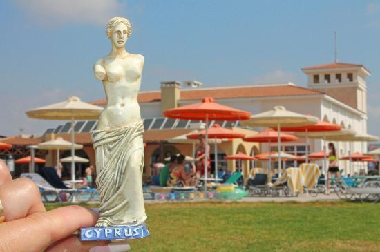Aktea Beach Village, pool area.