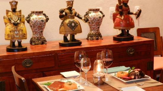 Hotel Casa do Amarelindo: Restaurant