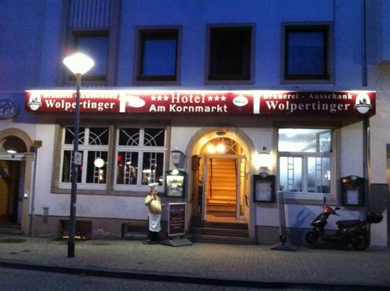 Wirtshaus Wolpertinger: entrance to Restaurant and Hotel