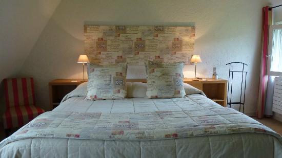 Les Manoirs de Tourgéville : Dernier niveau d'un triplex: chambre