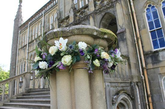 Ross Priory, University of Strathclyde: Floral arrangement