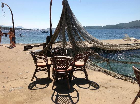 Beach Bar van Villa Mediterane (privé)