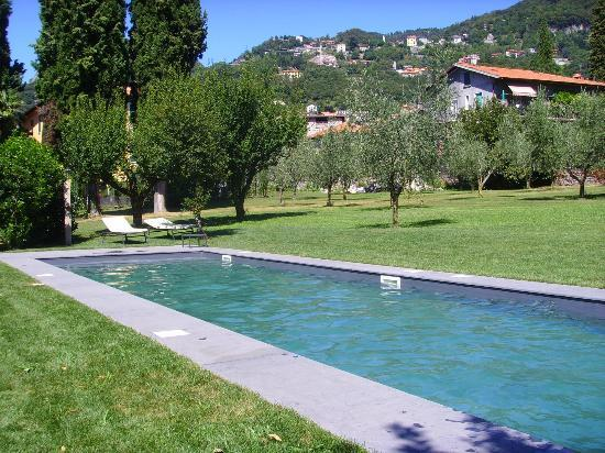 Agriturismo Castello di Vezio: Shared pool