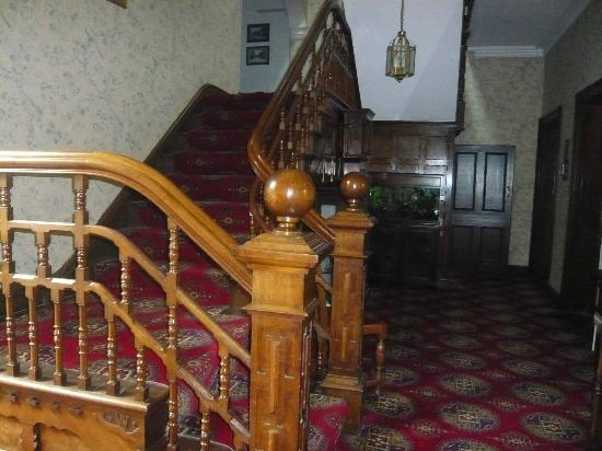 The Forest Country House B&B and Cottages : stunning staircase
