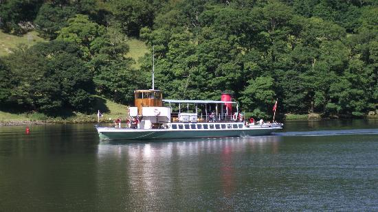 Ullswater Steamers: Steamer on the lake