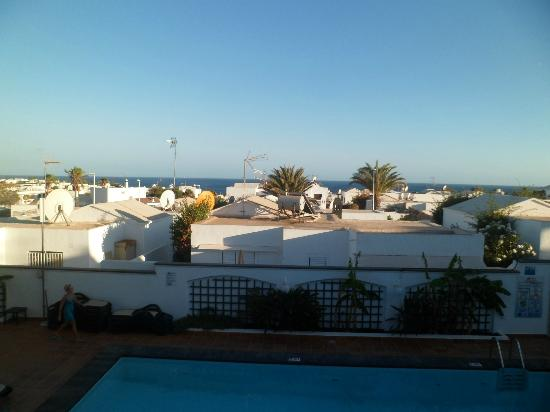 La Tegala Apartments: view from upstairs rooms