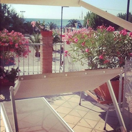Numana, Ιταλία: Il panorama dalla camera n°2