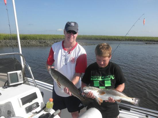 Nice pair picture of amelia island time charters yulee for Amelia island fishing
