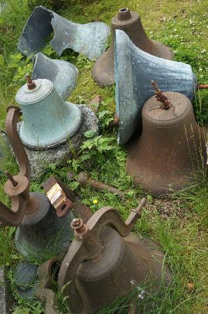 Holy Resurrection Russian Orthodox Church: Bells in church yard