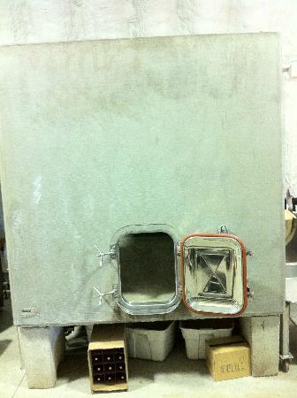 Lighthall Winery: Concrete Fermentation Tank