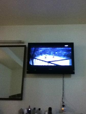 Apex Hotel: tv in room