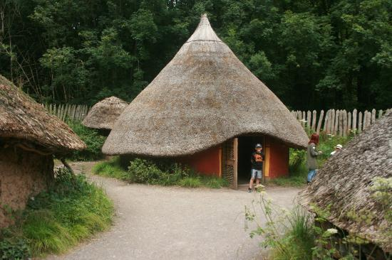 Celtic village picture of st fagans national museum of history
