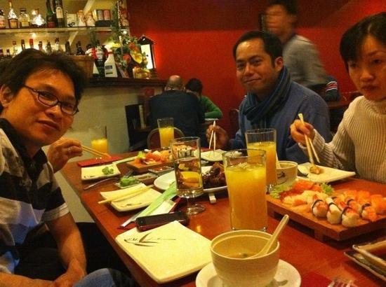 O-Tokuda: enjoy with sushi