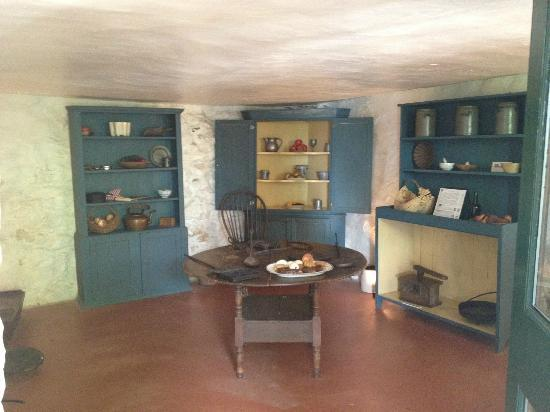 James Monroe's Highland: James Monroe's House - Kitchen