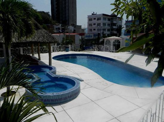 Hotel El Mejicano Acapulco: Jacuzzi y Alberca