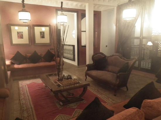 Riad Dar Saad: salon